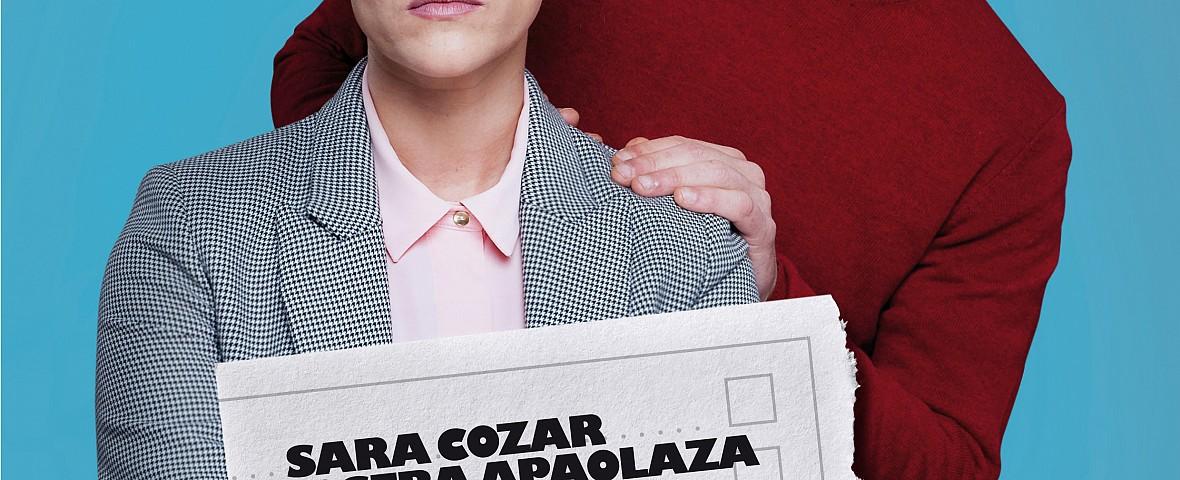 """SARA COZAR Y JOSEBA APAOLAZA PRESENTAN LA OBRA """"ERGELA""""."""
