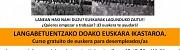 CURSO DE EUSKARA PARA PERSONAS SIN EMPLEO