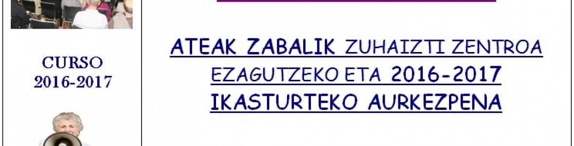 AKTIBA ZAITEZ!!!  ASTELEHENEAN ZUHAIZTI ELKARTEAN AURKEZTUKO DA
