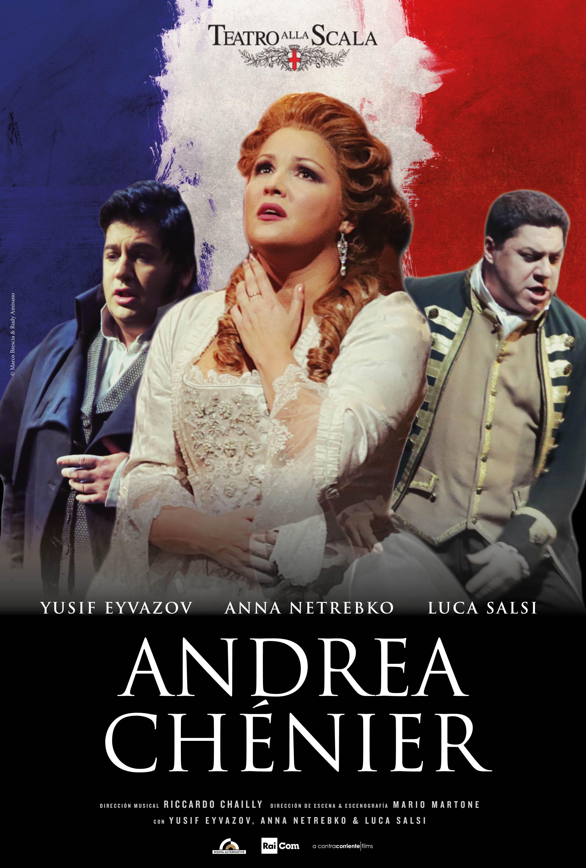 Andrea Chenier Teatro alla Scala Poster Spanish
