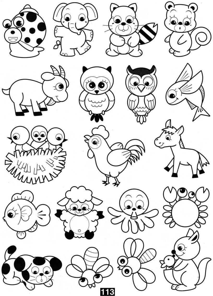 Animaliak pintatzeko