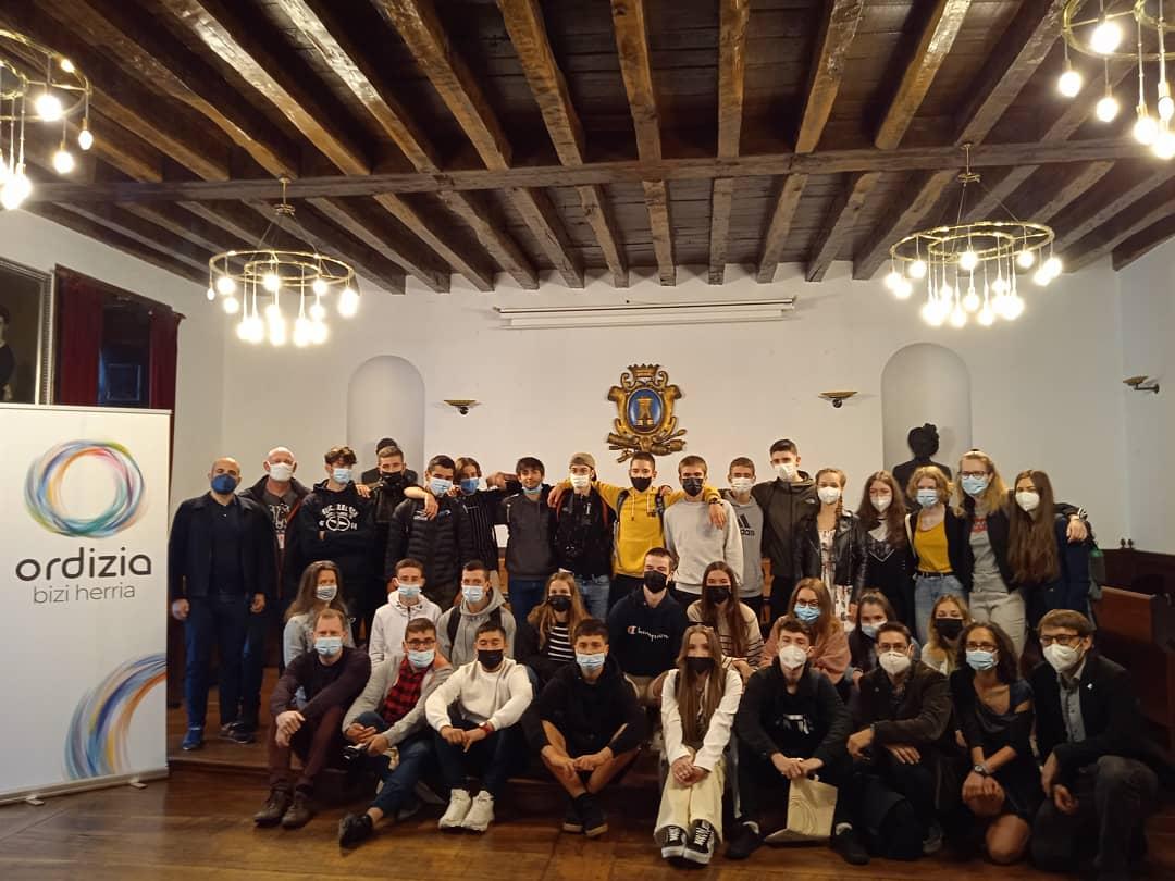 Bienvenida al alumnado de Erasmus+