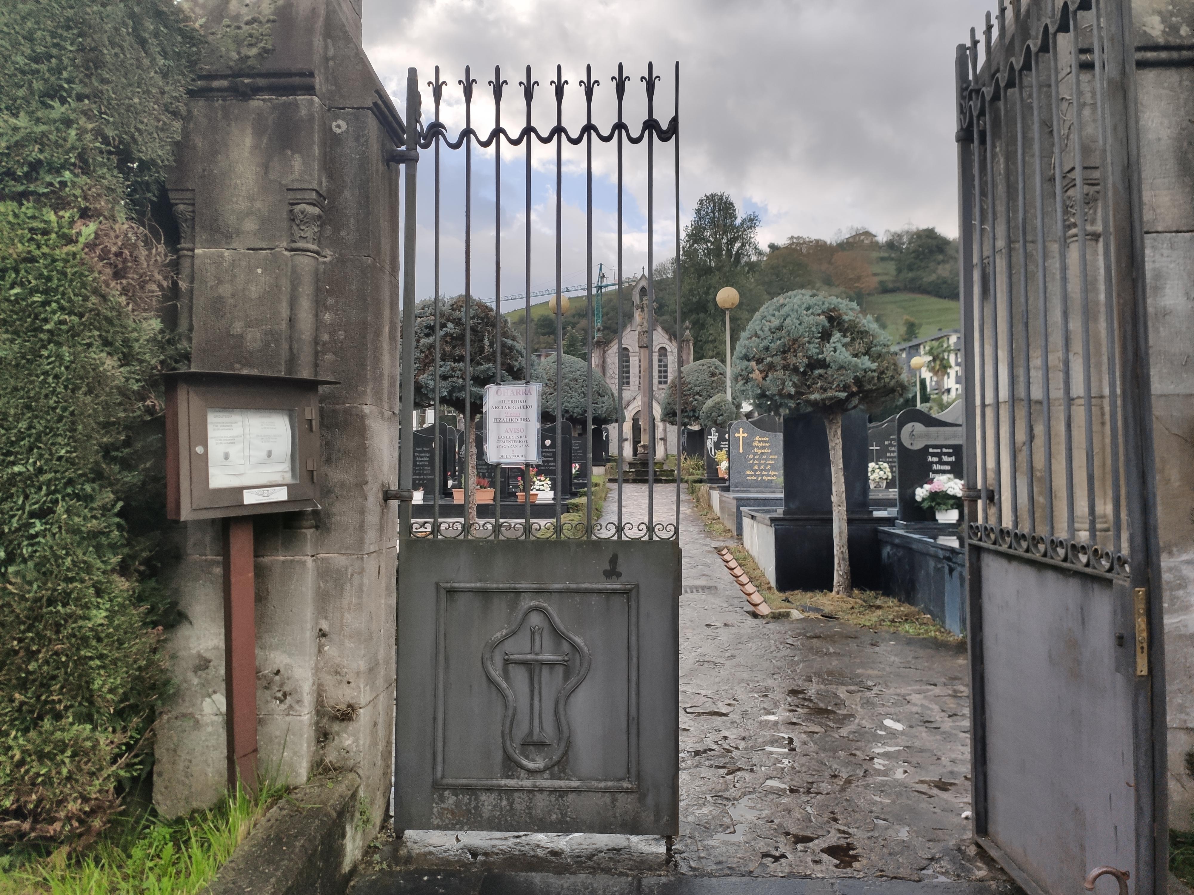 Ordizia. Hilerria. Cementerio