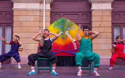 Teatro de calle 'Diberti-dantza', este viernes