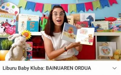 Liburu Baby Kluba, online ostiralean