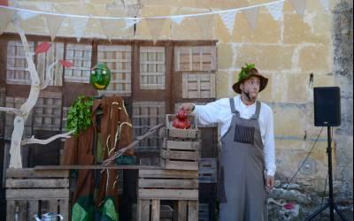 Teatro de calle 'Organik', el viernes en la Plaza Mayor