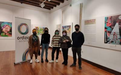 La exposición 'Lamiak eta Lloronak' en Barrena