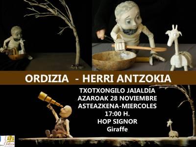 ASTEAZKENEAN TXOTXONGILO JAIALDIA HERRI ANTZOKIAN