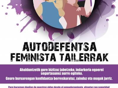 Talleres de autodefensa feminista