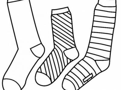 Colorea: calcetines