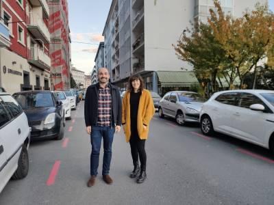 Suspendidos los estacionamientos limitados de la zona roja y azul