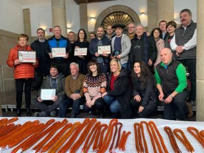 La carnicería Lasa de Ordizia vence el certamen de chistorra de Euskal Herria