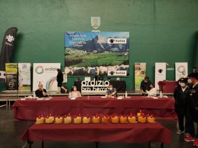 Los catorce finalistas del concurso de quesos