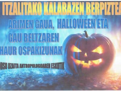 Charla sobre la noche de los espíritus, la noche oscura y Halloween, el jueves