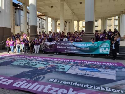 El Ayuntamiento se une con la huelga de las residencias