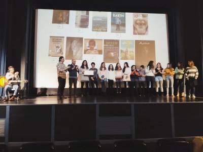 Los premiados en el certamen internacional de cortometrajes