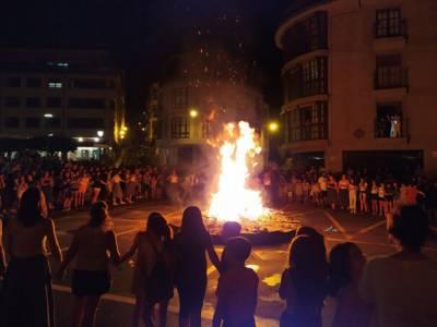 Este año no se encenderá la hoguera de San Joan
