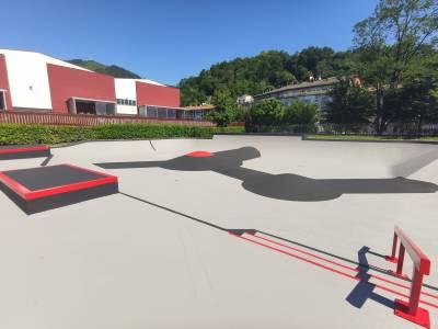 Skate Park-a berritu egin da