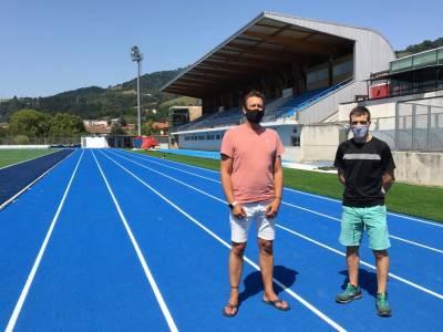 La nueva pista de atletismo de Altamira será un referente en Gipuzkoa