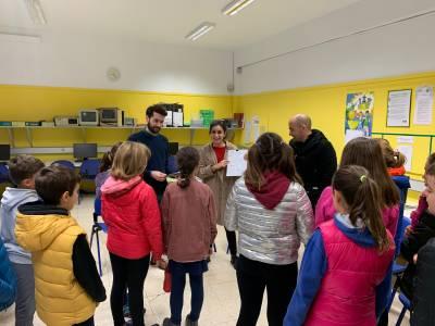 Los niños y niñas de Urdaneta, protagonistas en el proceso de renovación de Buztuntza