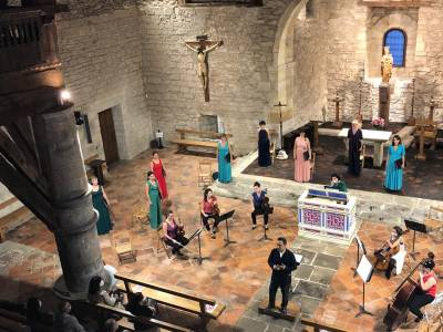 Vocalia abesbatza eta Conductus Ensemble, igandean