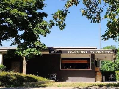 El chiringuito de Oiangu estará abierto desde este fin de semana