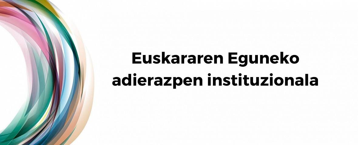 Euskararen Eguneko adierazpen ofiziala