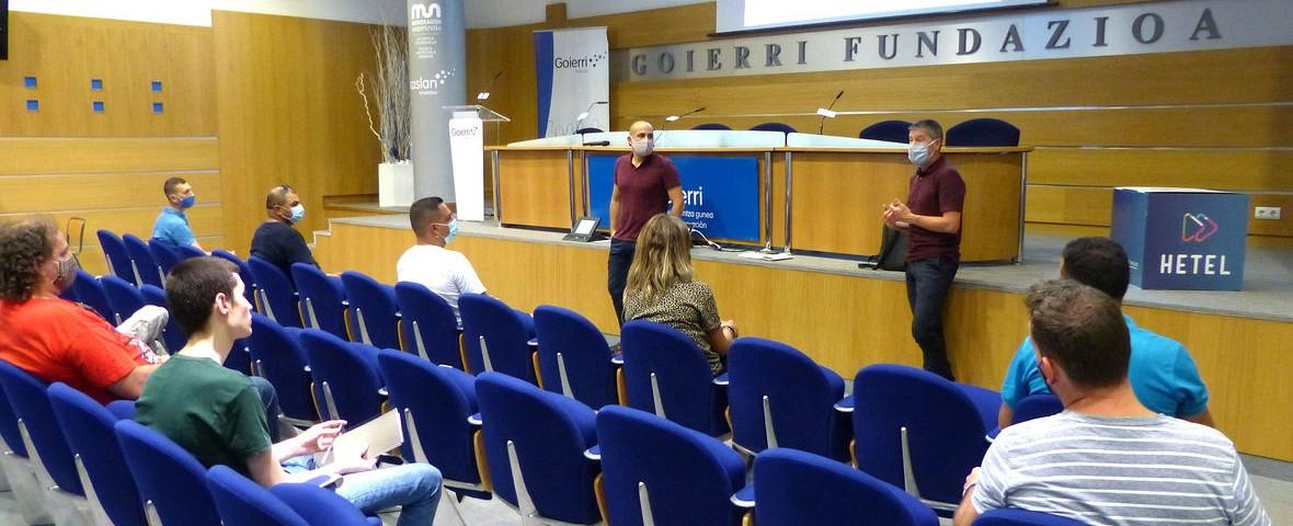 El Ayuntamiento de Ordizia financia los cursos para desempleados/as