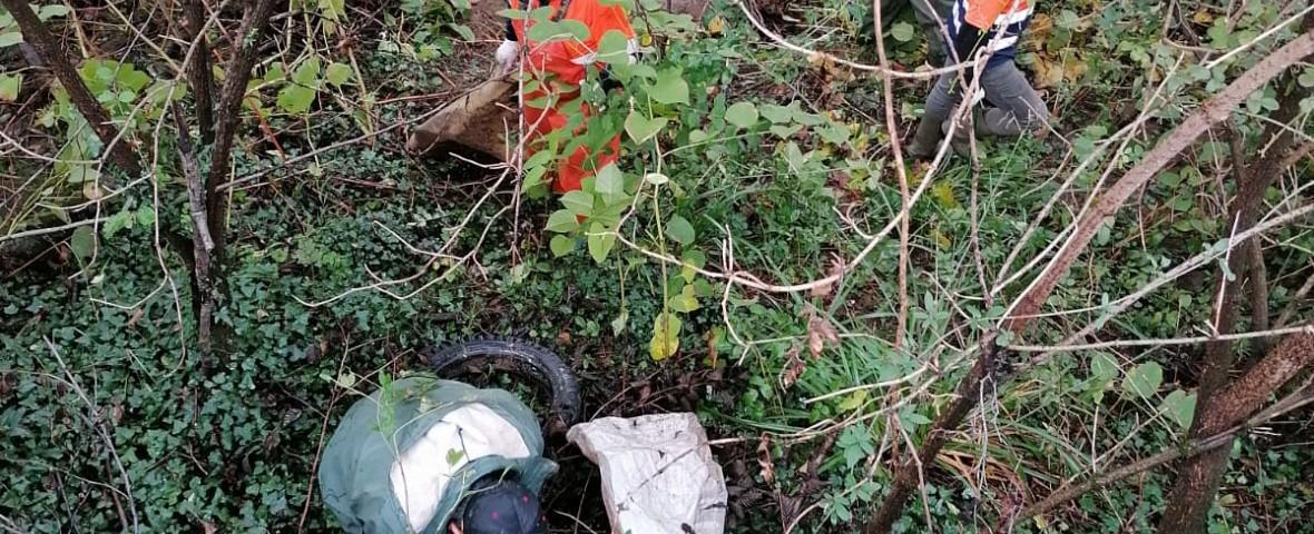 Comienza la limpieza de los ríos Oria y Amundarain