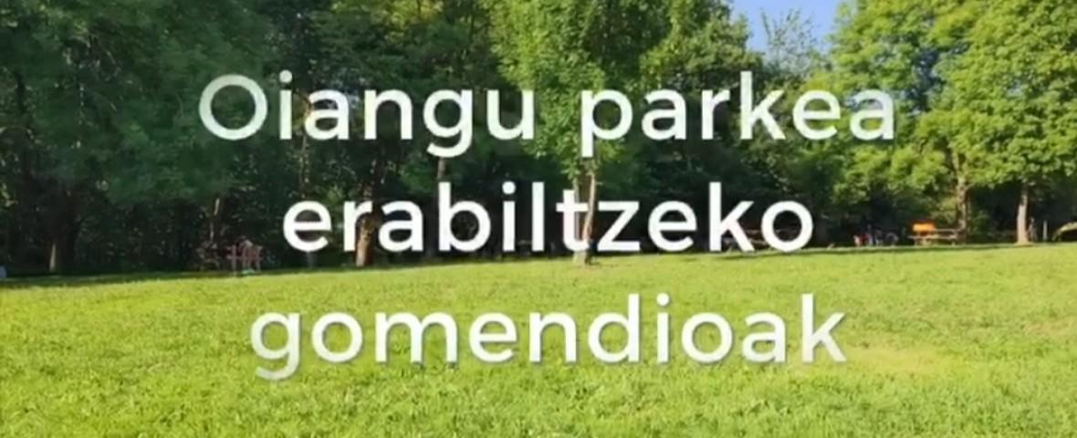 [VÍDEO] Recomendaciones para el uso de Oiangu