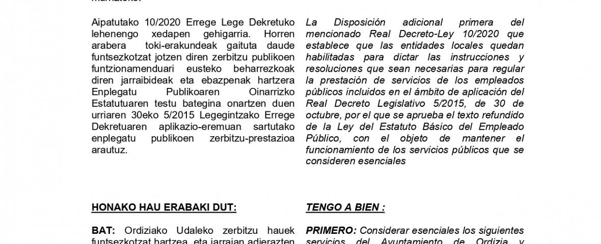 2020/0313 dekretua