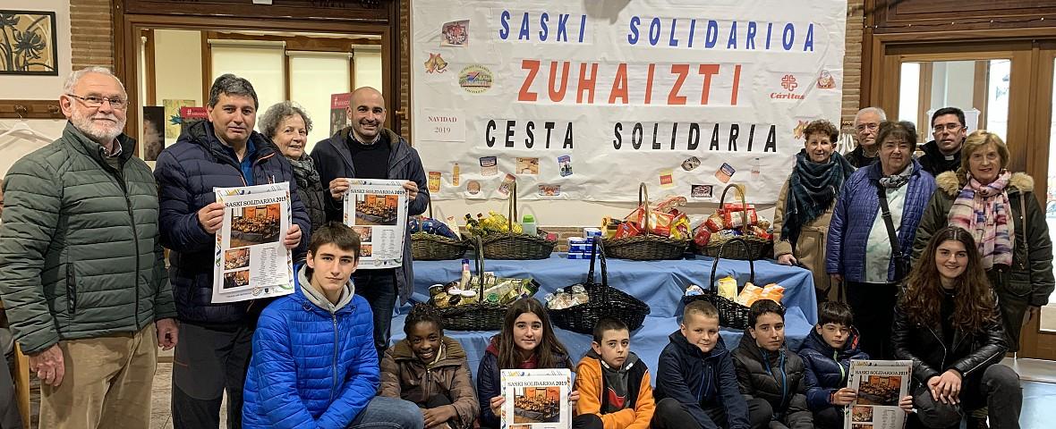 En marcha la 'Cesta Solidaria'