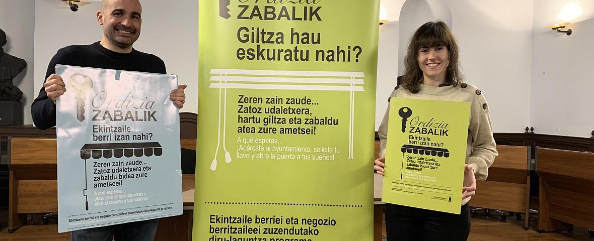 21.600 euros para el programa 'Ordizia Zabalik'