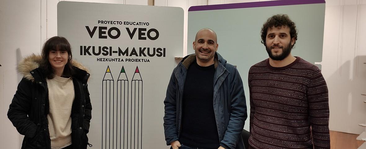 La exposición didáctica 'Ikusi-Makusi' en Barrena